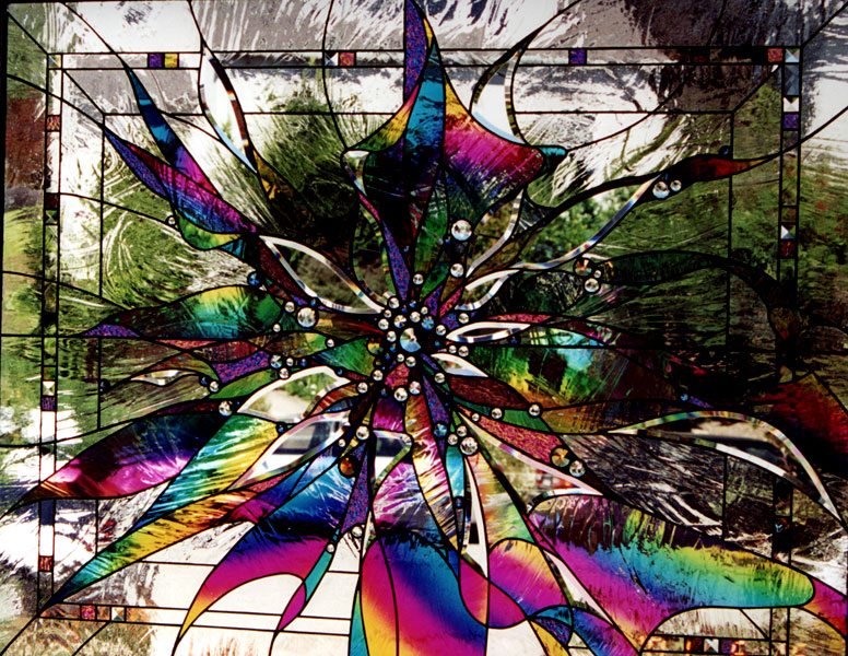 Stained Glass Window in